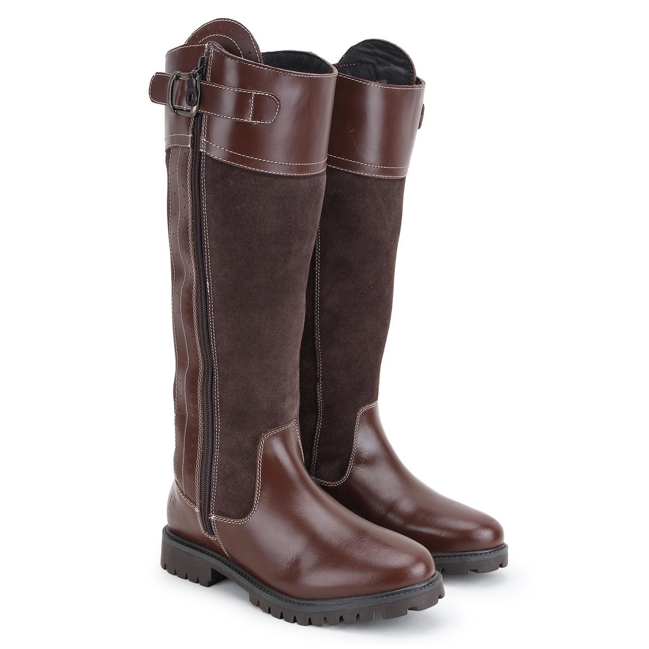 Side Zip Long Boots