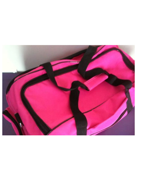 Horse Gear Bag / Sports Gear Bag / Overnight Bag - Pink