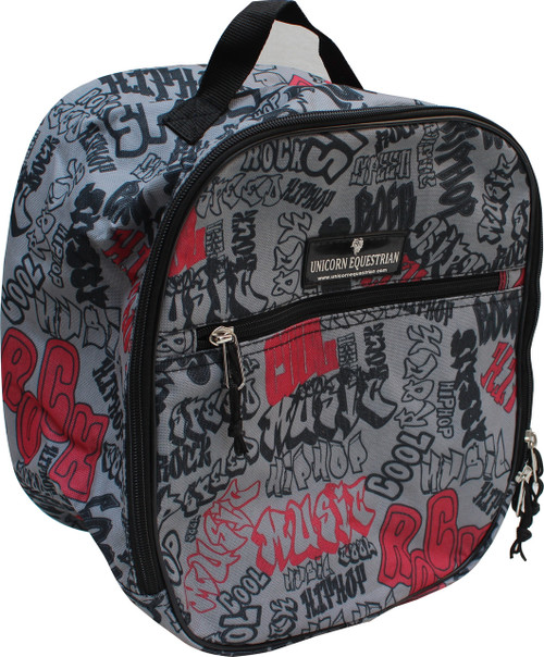 Printed Riding Helmet Bag / Toiletry Bag / Accessory Bag