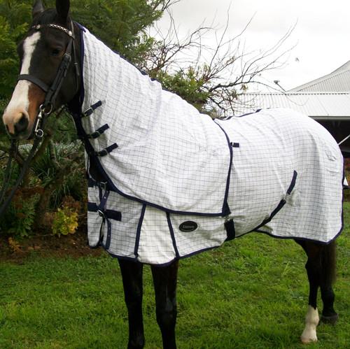 Desire Cotton Ripstop Detachable Neck Horse Rug W/ Generous Tail Flap