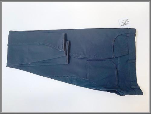 Navy Blue Full Clarino Seat Mens Breech