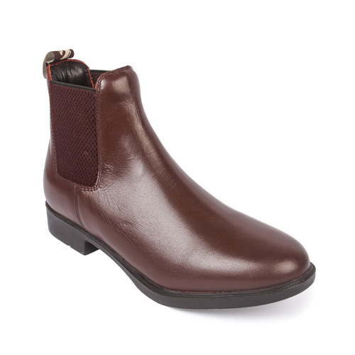 Pull On Leather Riding Jodhpurs Brown Boots