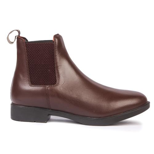 brown leather jodhpur boots