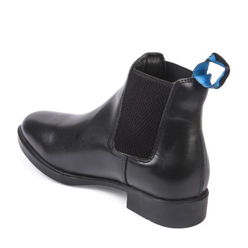 Unicorn Genuine Leather Jodhpur Boots Black
