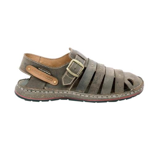 Maplewood Saber Leather Fisherman Sandals