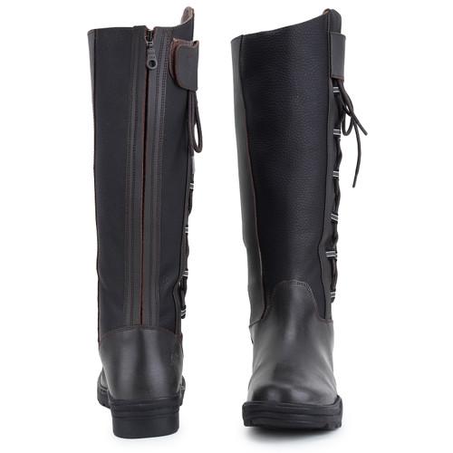 Unicorn Side Gusset Waterproof Country Boots Standard Calf Dark Brown