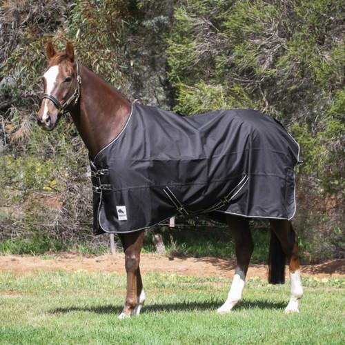 1200D Ripstop Black No Fill Regular Neck Rainsheet