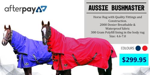 Aussie Bushmaster 2000 Denier Premium Combo Rug