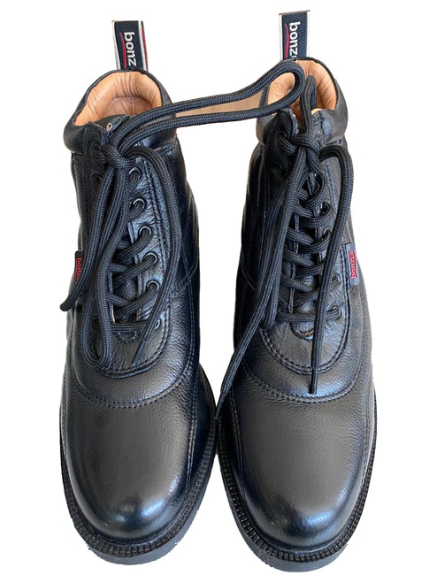 Classic Lace Up Paddock Boots 1735 Black EU 32 ~ 46
