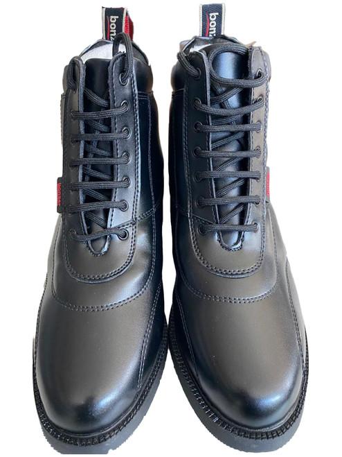 Lace Up Paddock Boots 1736 Black EU 35 ~ 44