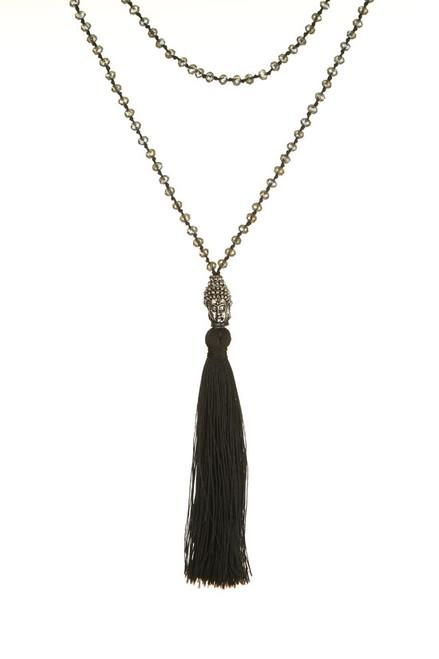 TREZO LAVI Silver Buddha Necklace