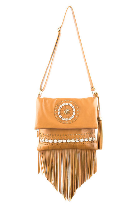 TREZO LAVI Tahiti Bag in Tan