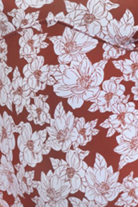 ACACIA HONEY BABY Kailua Top in Rust Magnolia