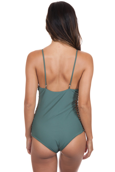 MIKOH Rio One Piece in Army