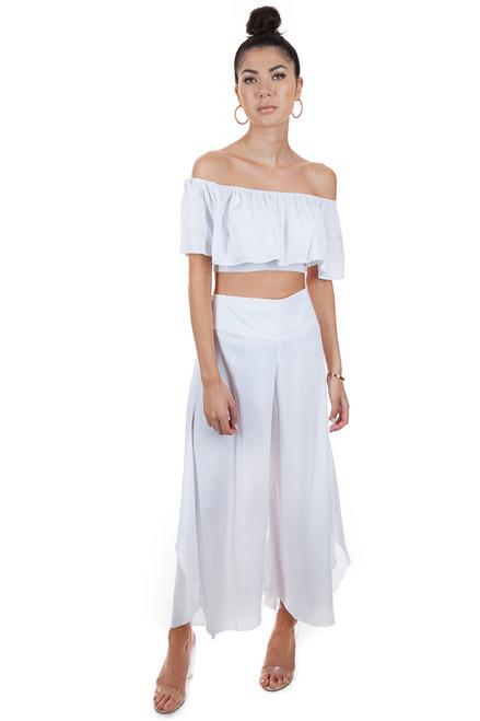 MILA THE LABEL Thai Pants in White