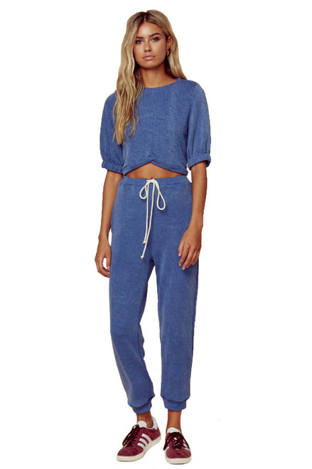 BLUE LIFE Kadee Jogger in Blue