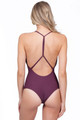 MIKOH Africa One Piece in Wine