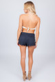 TREZO LAVI Coachella Top in Sand