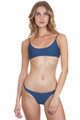 MIKOH Hermosa Top in Drop Off Blue