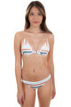 ISSA DE MAR Leialoha Top in Riviera Stripe
