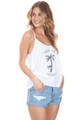 AMUSE SOCIETY Suns Out Tank in White Cap