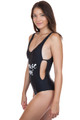 AMUSE SOCIETY Evie One Piece in Solid Black
