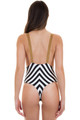 BLUE LIFE Buckled Overall One Piece in Stripe