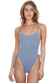 BLUE LIFE Breezy One Piece in Seersucker