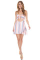 BEACH RIOT Taylor Dress in Pink Stripe