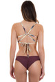 BOYS + ARROWS Clairee Bottom in Burgundy
