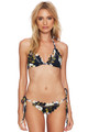 BEACH RIOT Cara Top in Navy Floral