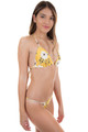 BEACH RIOT Charlie Top in Yellow