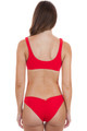 BEACH BUNNY Bralette Top in Red