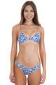 ACACIA Pawela Top in Blue Batik Blossom