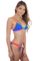 BANANA MOON Taeko Teknicolor Top in Blue