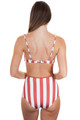SOLID AND STRIPED Brigitte Bottom in Riad Cream Stripe