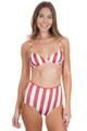 SOLID AND STRIPED Brigitte Top in Riad Cream Stripe