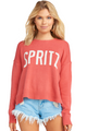 SHOW ME YOUR MUMU Arroyo Sweater in Spritz Graphic
