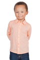 LONDONBERRY Hudson Long Sleeve Button Up Shirt in Peach