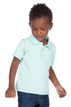 LONDONBERRY Rylee Short Sleeve Polo Shirt in Green