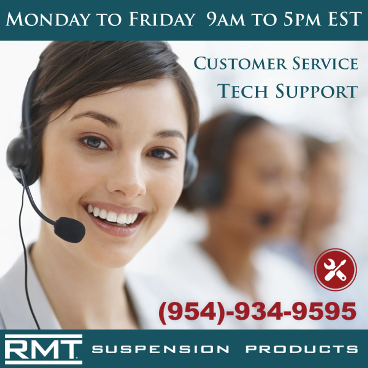 For Customer Service and Tech Support Please call us at (954)-934-9595