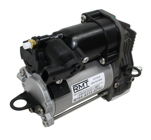 RMT Auto Parts Mercedes-Benz ML-Class W164 2005-2011 OE NEW Air Suspension Compressor and Relay Kit 1643201204