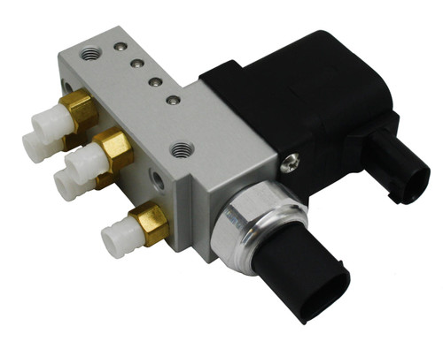 RMT Auto Parts Maybach 62 2002-2013 NEW RMT Suspension Air Ride Supply Solenoid Valve Block 2113200158