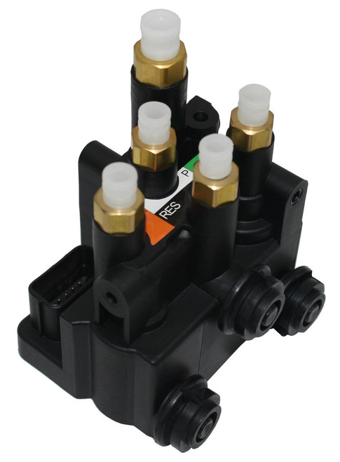 RMT Suspension Products Land Rover Discovery L462 2017-2021 NEW REAR Suspension Air Ride Supply Solenoid Valve Block LR037082