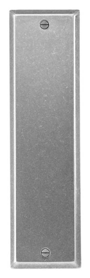 Bouvet 1250-20-012 Push Plate 235 X 65mm Pewter