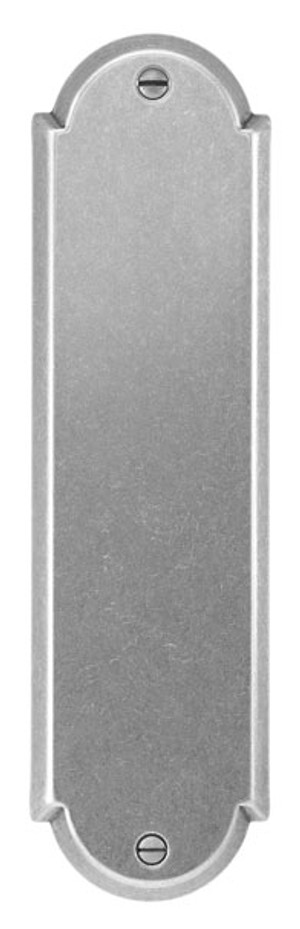 Bouvet 1251-20-007 Push Plate 235 X 65mm Black <br>(Shown In Pewter)