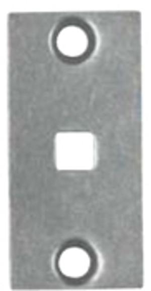 Bouvet 4940-43 Rectangular Full Dummy Plate 7mm Steel Bouvet 2324 53 12 LaForge 2324 53 12