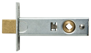 """Bouvet 8930-60-012 Privacy Bolt 2-3/8"""" Backset Pewter <br>With Face Plate And Strike, Finishes Are For Face Plate And Strike Bouvet 8251 01 00 LaForge 8251 01 00"""