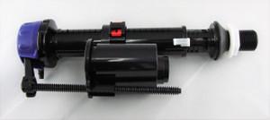 "Duravit 0074114262 Fill valve bottom supply 15/16"" POM for Starck 3 One-Piece"