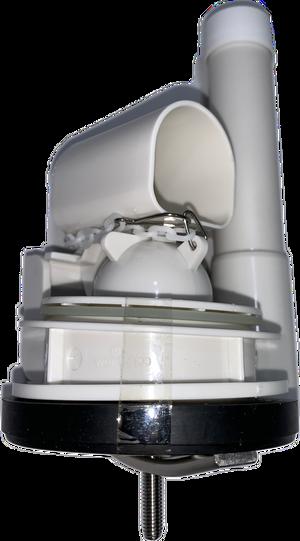 """Duravit 0074135400 - Flush Valve 2"""" for Tribeca, Overflow tube length: 5 1/2"""""""
